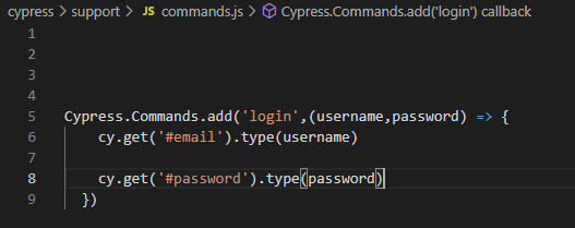 create Re-Useable Commands