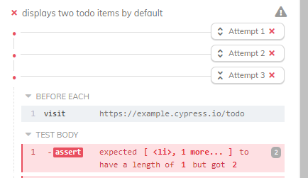 cypress with retry