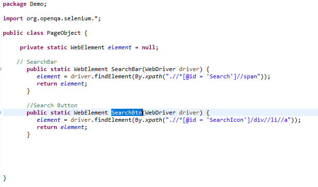 how to implement page object model in selenium.